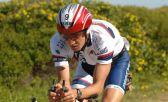 En entrenamiento para el Ironman Sudáfrica f
