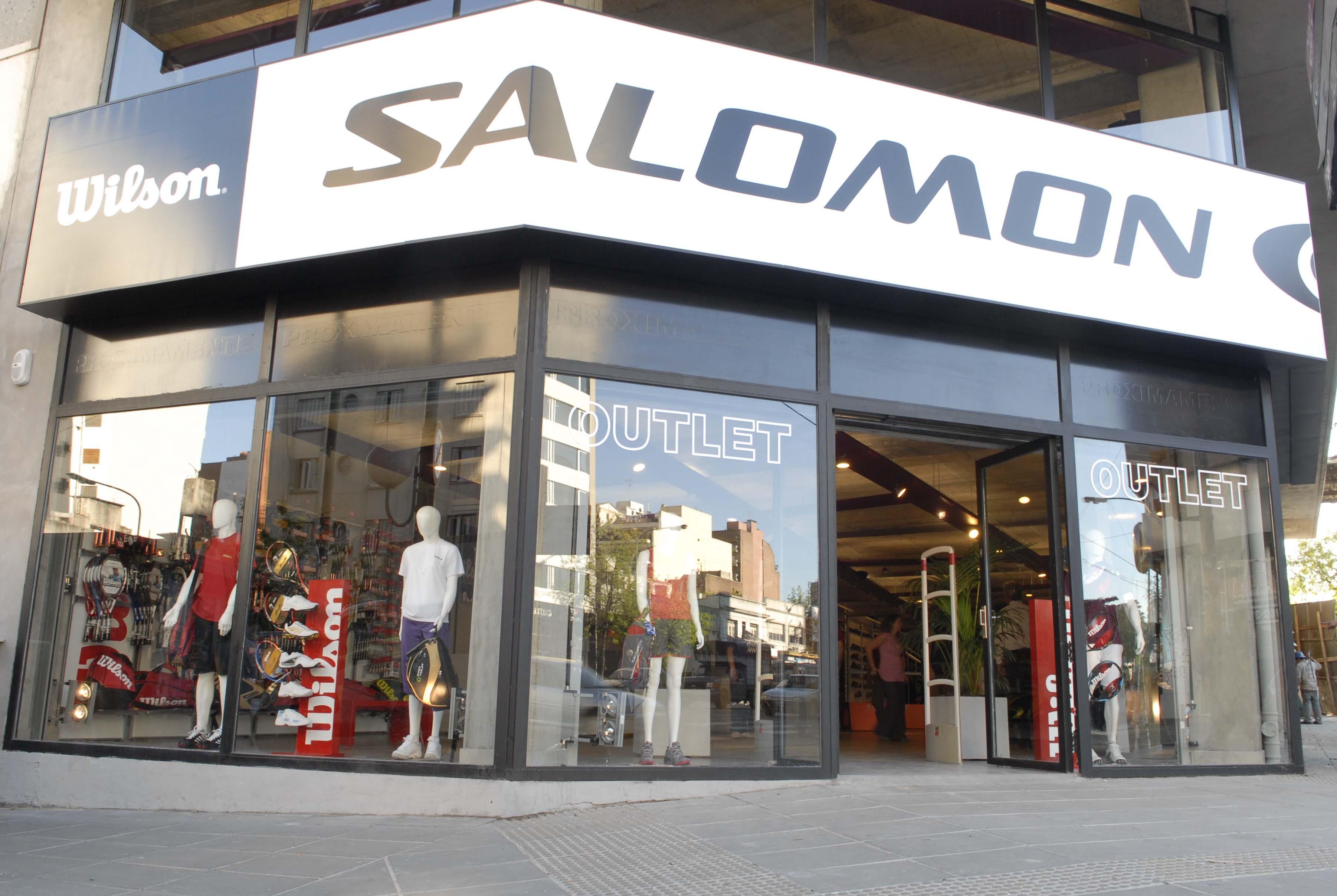 outlet de zapatillas salomon en capital federal