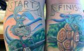 tattoo running