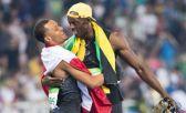 Antes del triunfo de Bolt en la Diamond Leagu