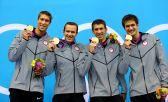 O quarteto campeão em Londres-2012 - Foto: A