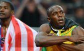 Justin Gatlin venció a Bolt