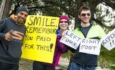 carteles motivacionales en los maratones