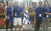 Por primera vez una delegación uruguaya form