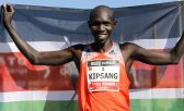 El fondista keniataWilson Kipsang