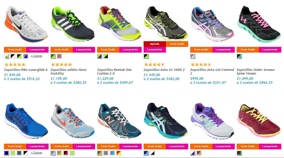 3100ea15 Con el avance de la venta de indumentaria a través de los e-commerce  (comercios por internet) muchos atletas elijen esta nueva forma de comprar  o utilizan ...