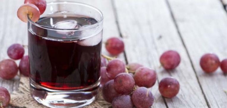 El jugo de uva y sus propiedades