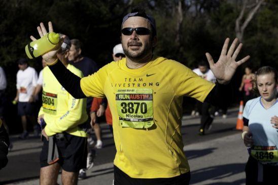 El peso ideal para correr una maratón