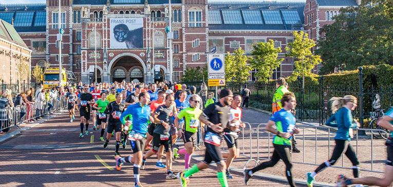 Maratón de Amterdam: ¿Cómo es ser liebre de los atletas africanos?