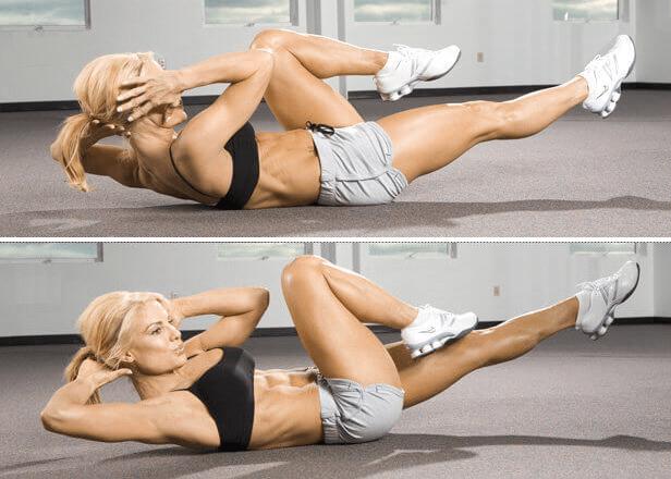 ejercicios que se pueden hacer en casa para bajar la barriga