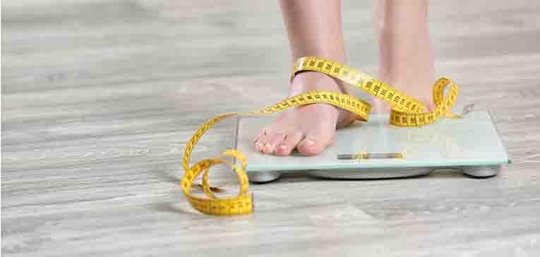 Peso ideal para una mujer de 1.64 cm