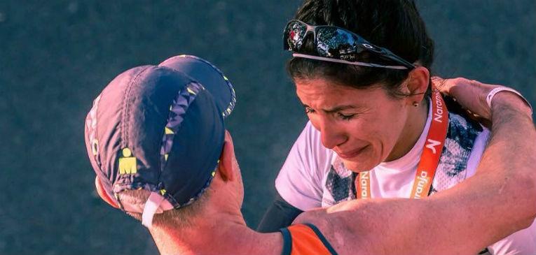 Daiana Ocampo, integrante del equipo argentino en la Maratón de Buenos Aires