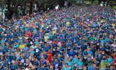 La maratón es una fiesta. Miles de personas