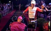 Sid James, finisher de un Ironman junto a su amigo Kevin