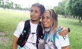 Clarisa Nunzio corre El Cruce junto al Dr. Marcos Alonso