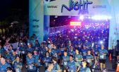 Impactante presentación de la Night Run Vicente López