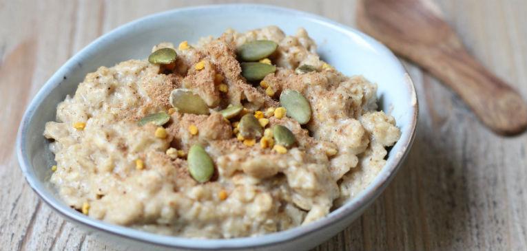 Porridge con semillas