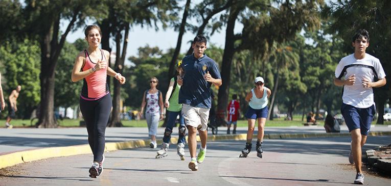 Los Bosques de Palermo. Dónde correr en Buenos Aires (Turismo Bs. As.)