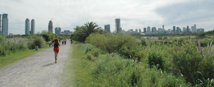 Corriendo por la Reserva (Foto: Buenos Aires Ciudad)