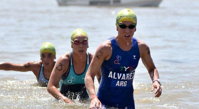 Delfina Álvarez y su pasión, el triatlón