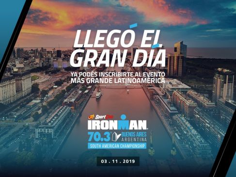 Ironman 70.3 Buenos Aires 2019