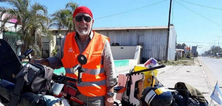Rodolfo Itre en la ruta