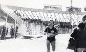 Iris Fernández, homenajeada en la Maratón de Buenos Aires