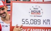 Victor Campenaerts, dueño del récord mundial de la hora
