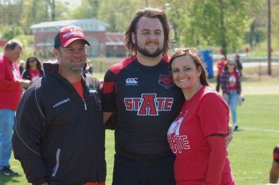 Garrett Soileau, un fanático del rugby (foto: GS foundation).