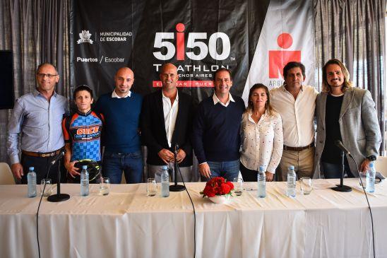 El Triatlón 5150 de Puertos, Escobar, ya fue presentado y abrió sus inscripciones (Prensa)
