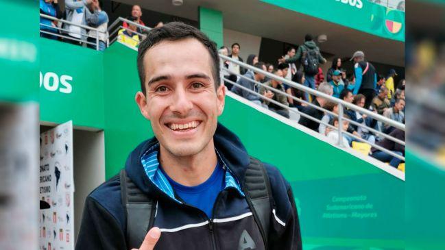 Maxi Díaz consiguió ser de oro en el Sudamericano de Atletismo (foto: CADA)