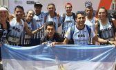 El equipo argentino del Mundial de trail en Abutres