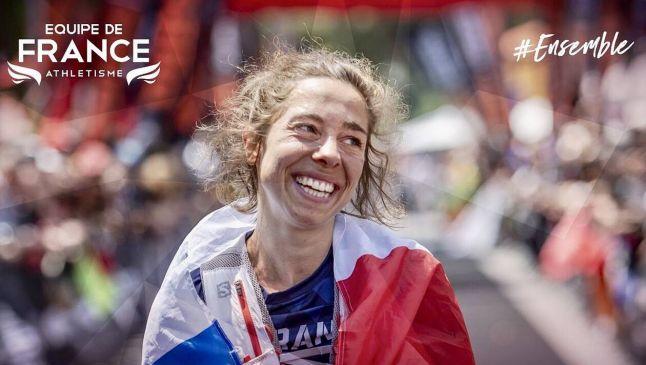 Blandine L'hirondel, la gran ganadora del Mundial de trail