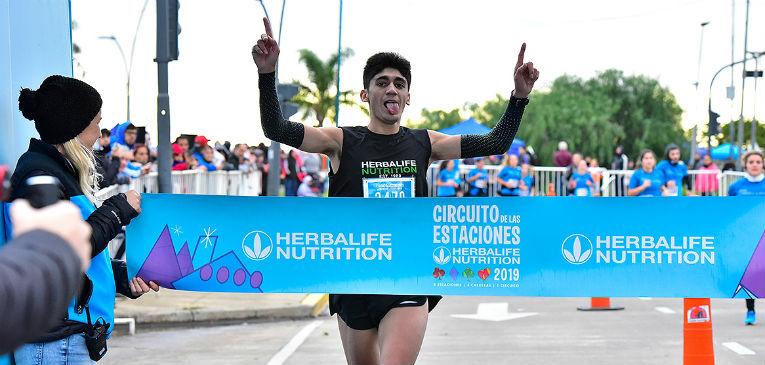 Eulalio Muñoz, el gran ganador de Estaciones Invierno (foto: soyfinisher)