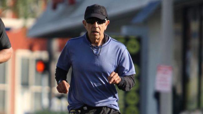 Corredor descalificado de la Maratón de Los Ángeles