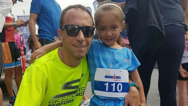 Mariano Mastromarino junto a su hija, Morena