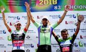 El podio de la Doble Bragado 2018, suspendido por doping