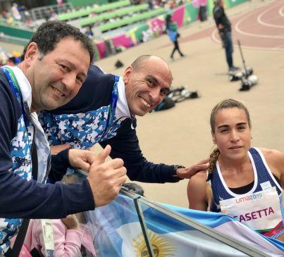 Belén Casetta junto a Leo Malgor