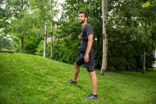 Prototipo del exoesqueleto para correr y caminar de forma más eficiente (Harvard)