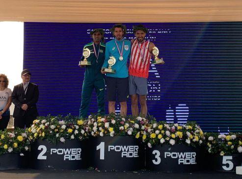 El uruguayo Cuestas, campeón entre los hombres. Daiana Ocampo ganó entre las damas.