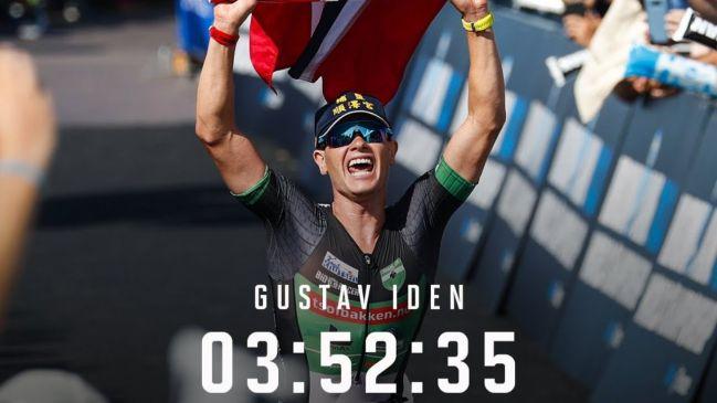 Gustav Iden celebra su título en Niza