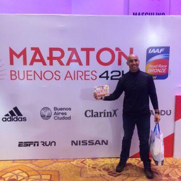 Serán 1600 los brasileños en la Maratón de Buenos Aires