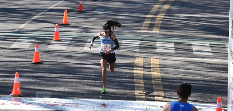Daiana Ocampo hizo historia en la Maratón de Buenos Aires 2019