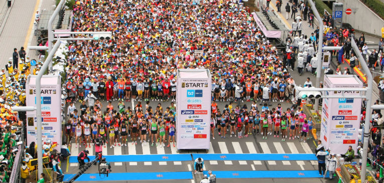 A diferencia de los 42K de Tokio, que son a principio de año, la maratón de Tokio 2020, se corre en pleno verano.