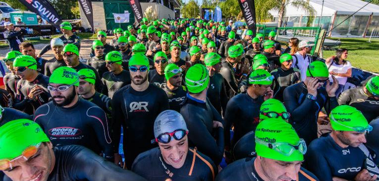 Se larga el Ironman 70.3 Buenos Aires 2019, en Nordelta