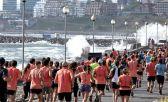 Escenarios de la Maratón de Mar del Plata 2019