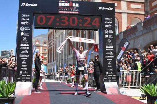 Weiss se llevó el triunfo en el Ironman en la Feliz de 2018