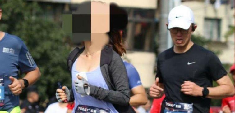 Zhao, la corredora tramposa sancionada de por vida (Crédito: Beijing News)