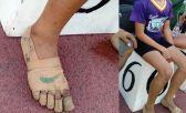 Rhea Bullos y sus zapatillas