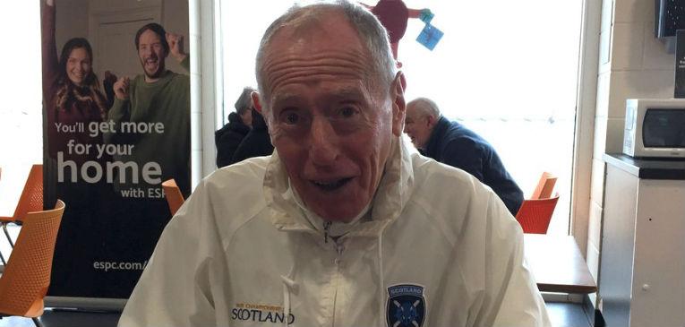 George Black, el recordista de 80 años